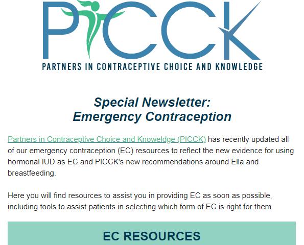 ec newsletter