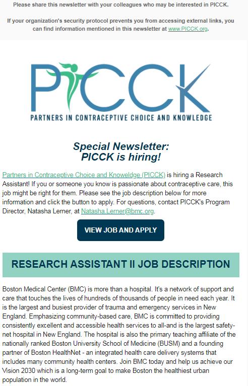 picck is hiring